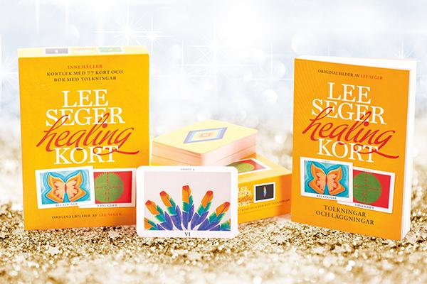 Lee Seger Healingkort, signerad